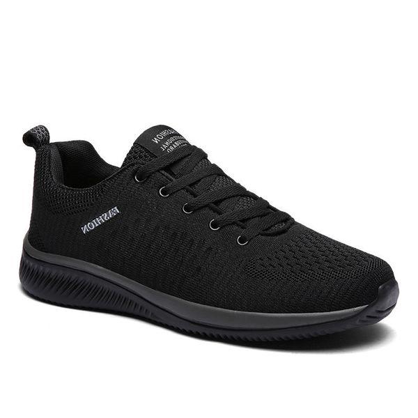 WN6O Casual shoes New Mesh Casual 2019 Comfortable Men Lightweight Breathing Walking Shoes Sneakers Tennis Feminino Zapatos Big Size 47 25HL