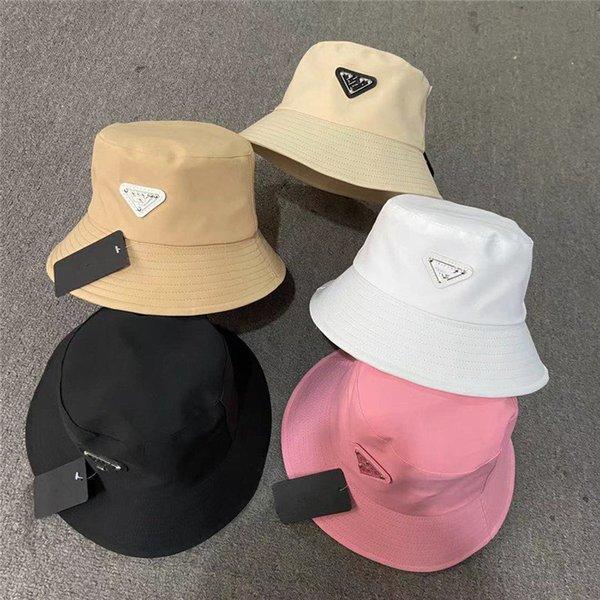 top popular Fashion Bucket Hat Cap for Men Woman Baseball Caps Beanie Casquettes fisherman buckets hats patchwork High Quality summer Sun Visor 2021