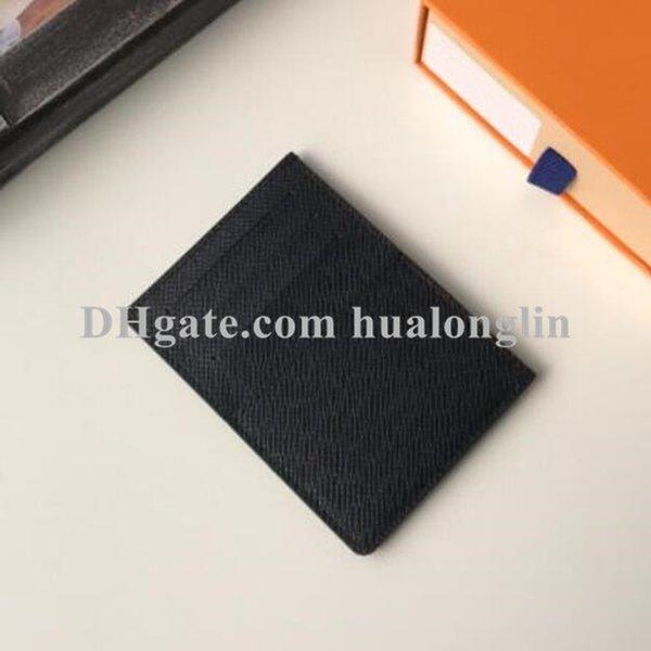 top popular Women card holder wallet slots men original box high quality flower checkers grid fashion whole sale drop 2021