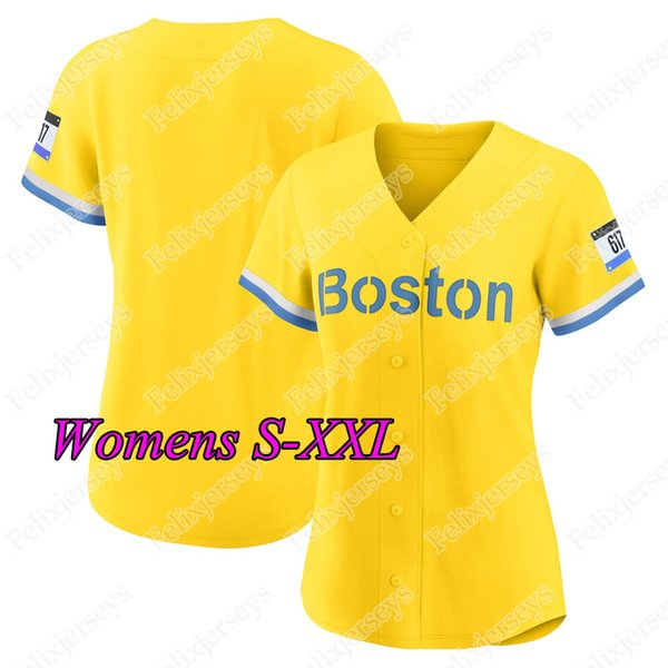 Womens S-XXL 2021 City Connect Jersey