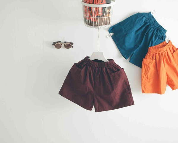 best selling Forest   Forest Map Children's Haan Beach Pants Big Pocket Boys' and Girls' Shorts