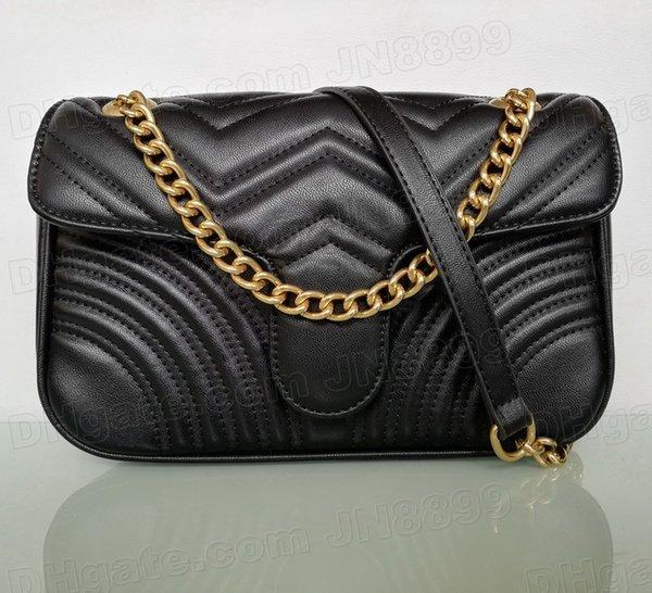 top popular Top Quality Fashion Shoulder Bags Women Chain Crossbody Handbags Lady Leather Handbag Purses Wallet Purse Female Messenger Bag Many Colors Chooes 2021