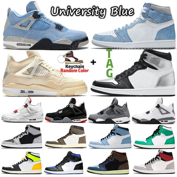 top popular 2021 Sail University Blue 1s 4s Mens