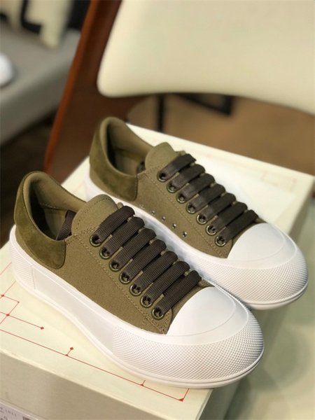 Walking Casual Shoes Women Flat Shoe Tiger Snake Green Red Stripes Embroidered Couples Fashion Trainers Chaussures