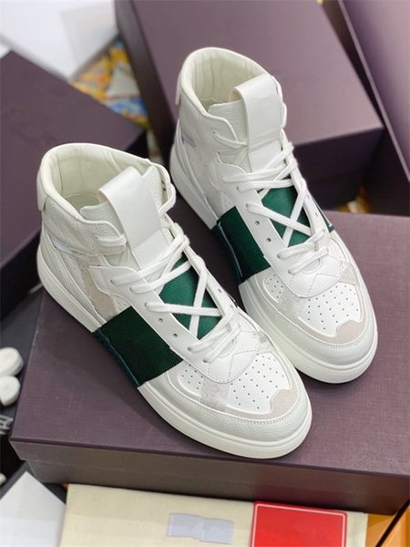 top quality luxurys designers shoes oblique technology canvas trainers sneakers men women fashion pairs outdoor platform casual shoes