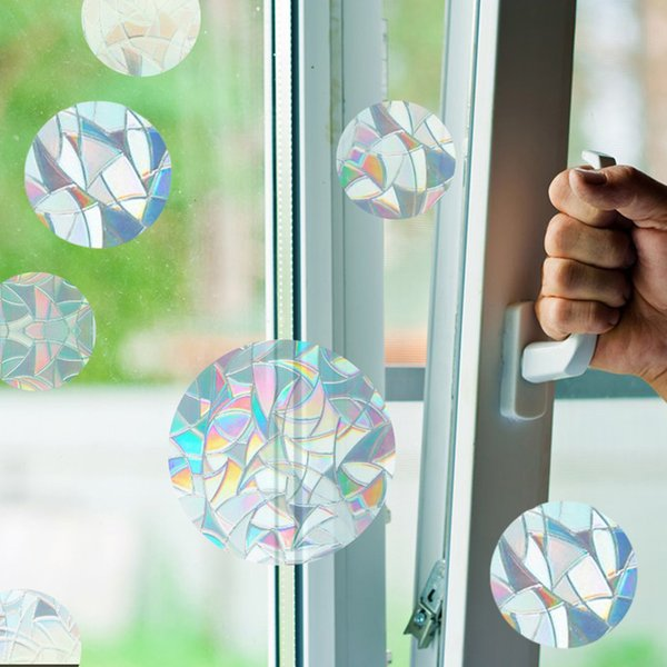 best selling PVC Window Film Glass Static Cling Sticker Window Decal for Home Living Room Bathroom Decoration