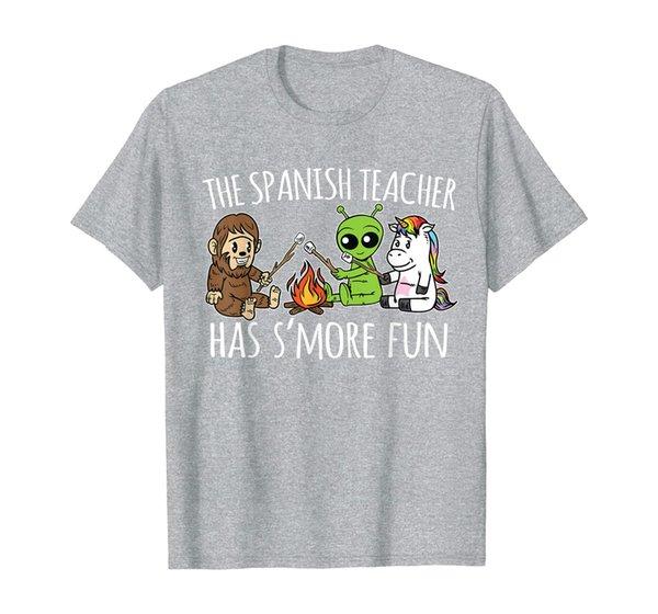 Spanish Teacher Has S'more Fun Team Gifts T-Shirt