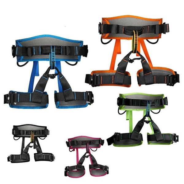 top popular XINDA Camping Safety Belt Rock Climbing Outdoor Expand Training Half Body Harness Protective Supplies Survival Equipment 818 Z2 2021