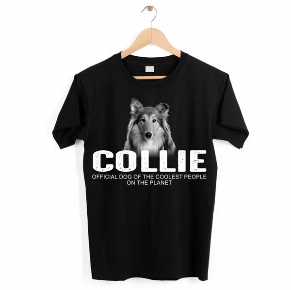 Collie Longhair Collie Dog Unisex Shirt Official Dog Cool People Funny hundemoti