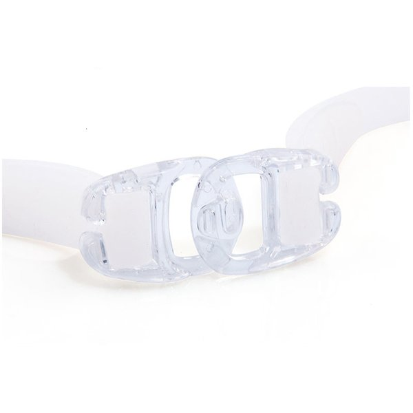 top popular Swimming Goggles White Clear Version Transparent Lens Professional Women Silicone Waterproof Pool Swim Eyewear Diving Glasses 2021