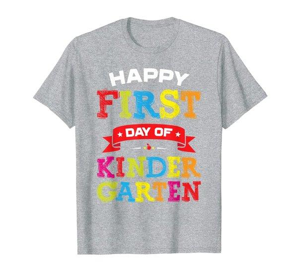 Happy First Day Of Kindergarten Shirt Teacher Students T-Shirt