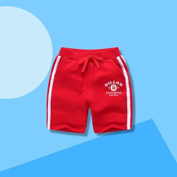 best selling Children's Summer New 2021 Boys' Cotton Sports Shorts Girls' Fashionable Beach Capris