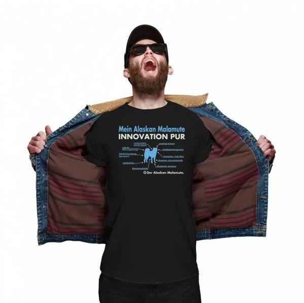 Alaskan Malamute Unisex T-Shirt innovation Dog Motif Mally time