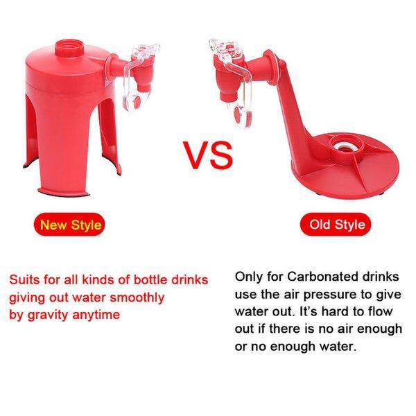 Distributeurs d'eau pas chers Hot Magic Tap Tap Soda Coke Cola Distributeur d'eau de boisson pour la fête Home Bureau Bar Cuisine à l'envers Down Down Down