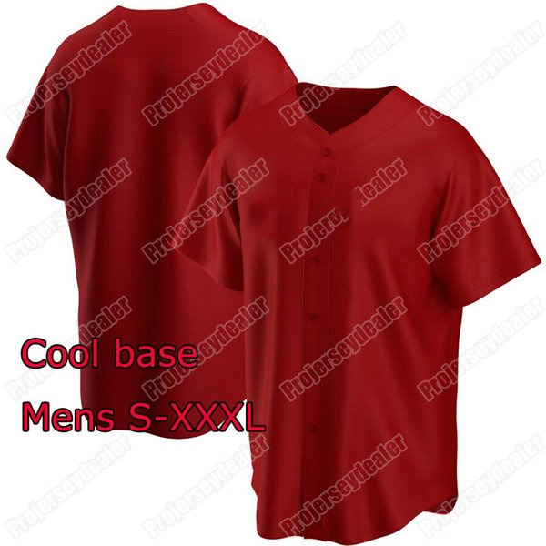 Red Cool Base Mens S-XXXL