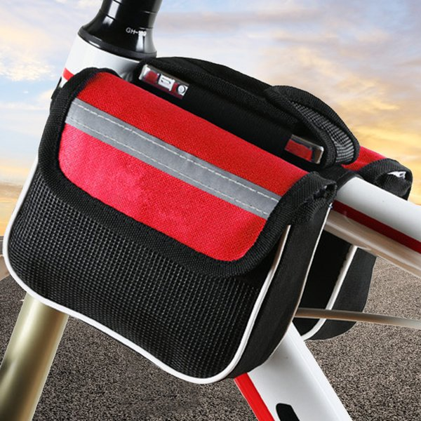 best selling MTB Bike Top Tube Shell Cycling Pouch Frame Front Top Tube Cycling Phone Case Bicycle Pouch Front Frame Hard Shell Storage Bag