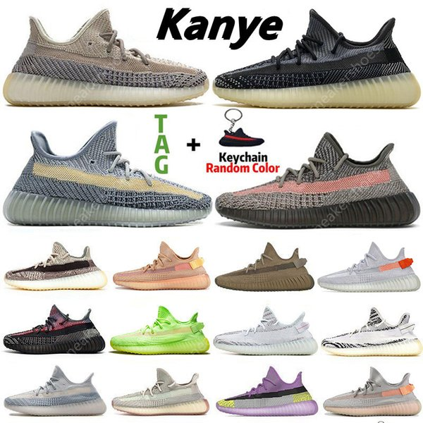 best selling 2021 Kanye Ash Blue Pearl Stone Mens
