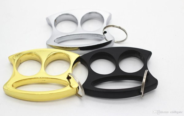 top popular Brass New Knuckles Ring Tactical Survival Multi-functional Self Defense EDC Dusters Bottle Opener EDC tools 899 2021