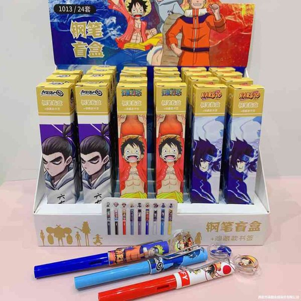 best selling Pens Japanese cartoon pirate king Naruto assassin 567 blind box
