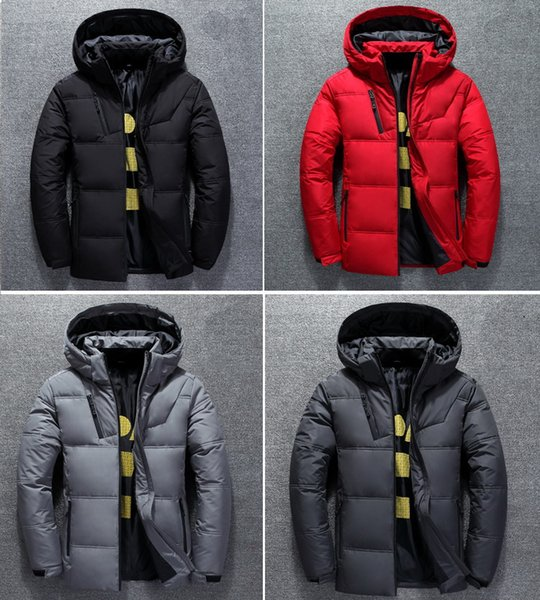 top popular Men Winter Down Jacket Hooded Softshell Coat Puffer Sportwear Outfit Casual Outwear Man S Clothing Designer Running Cloth Unisex Women 2021