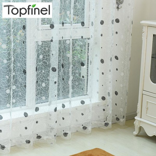 best selling Curtain & Drapes Top Finel 2021 Bird Nest Sheer Panel Embroidered Curtains For Kitchen Living Room The Bedroom Tulle Window Treatment