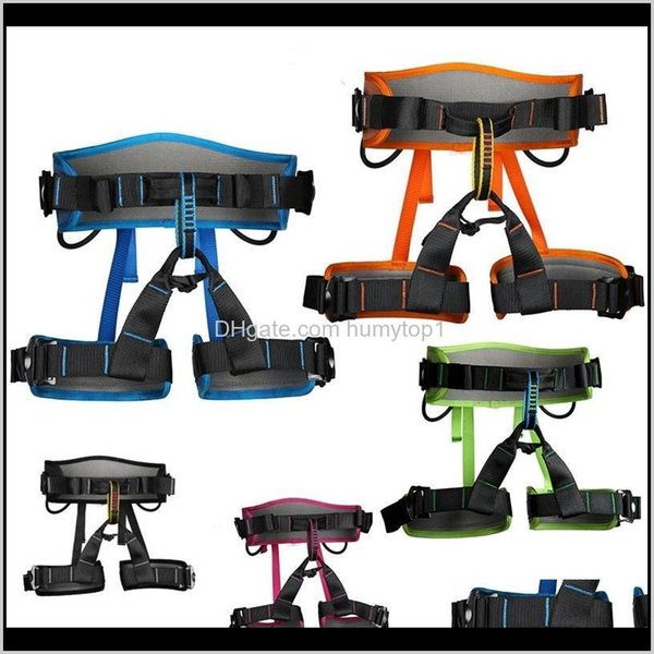 top popular Harnesses Rock Climbing Harness Aerial Work Belt Speed Drop Outdoor Protect Safety Wear Resistant Fall Prevention 119Xdf1 Kkqu5 Y0L3F 2021