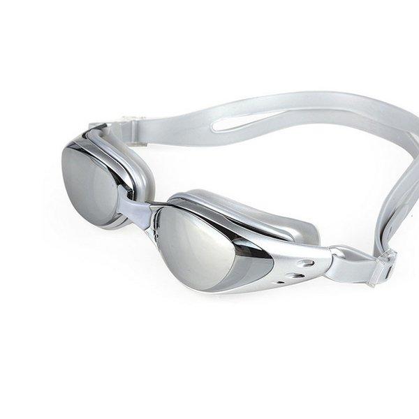 best selling Swimming glasses goggles Myopia Anti Fog Men Women professional silicone Waterproof Pool Beach swim eyewear diopter