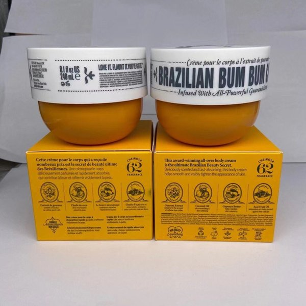 best selling SOL DE JANEIRO BRAZILIAN BUM cream Perfume body Lotion 240ml Firm NutritiousMoisturizer