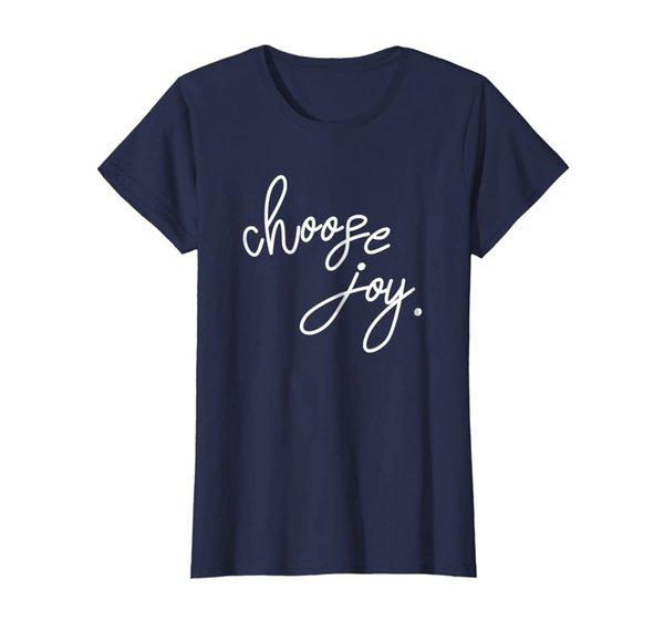 JB Design Co. Choose Joy Tshirt, Inspirational Tshirt