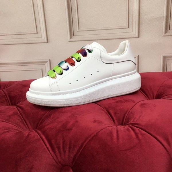 Fashion Designer sneakers Printed Genuine Leather Sneakers leisure Casual Shoes fashion leather sneakers size 35-45