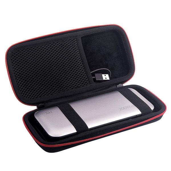 Ellphones 통신 Zoprore 하드 EVA 여행 케이스 ZMI 은행 25000mAh QB826 모바일 전원 커버 휴대용 배터리 전원 은행 P ...
