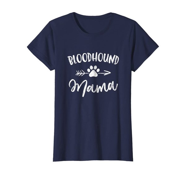 Bloodhound Mama Shirt Bloodhound Lover Owner Gifts Dog Mom