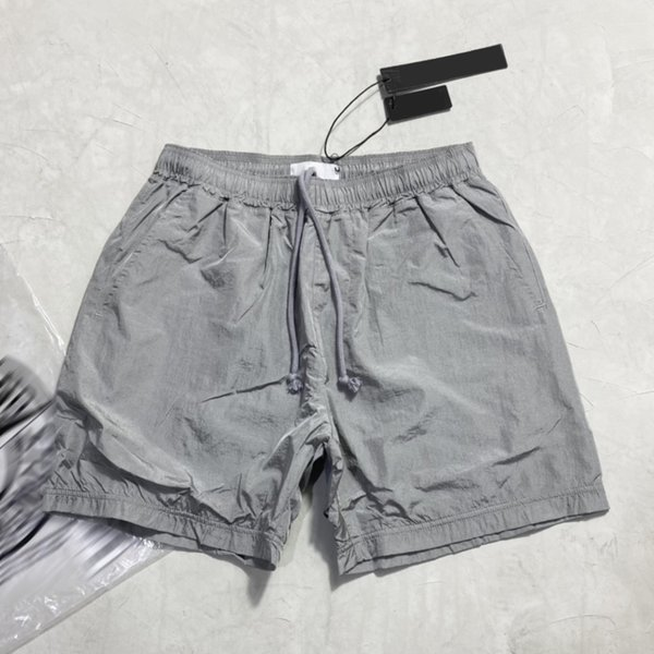 best selling Summer Mens Shorts Joggers Pants Male Designer Trousers Black Silver EU Size S-XL #90587 Reflective fabric Clothes