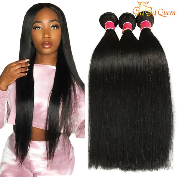 top popular Wholesale Mink Brazilian Straight Hair Color 30inch Brazilian Virgin Human Hair Weave Bundles New Arrival Brazilian Virgin Hair Straight 2021