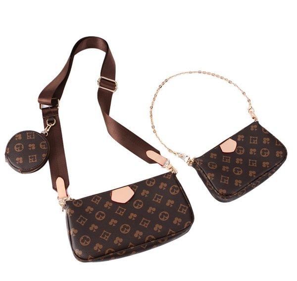 best selling 2021 Women Luxurys Designers Crossbody Bags Leather Womens designer Handbags + Wallet + Bag Shoulder Shopping Tote Pruse Tassel Handbag