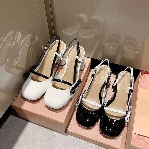 best selling 2021 early spring sandals luxury quality casual shoes flat toe design unique texture style bow decoration fashionable versatile high-end personality two colors