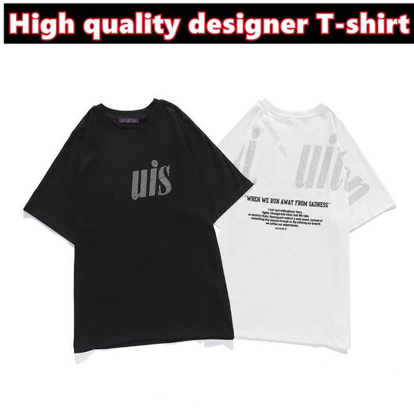 best selling Men's T shirt lovers short sleeve designer makes high quality sportswear Street letter pattern clothes