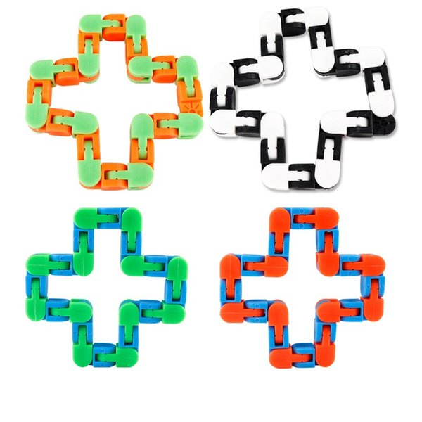 best selling Fidget Snake Puzzle Wacky Tracks Snap and Click Sensory Toys Kids Adult Anxiety Stress Relief ADHD Needs Educational Party Keeps Fingers Busy Toy
