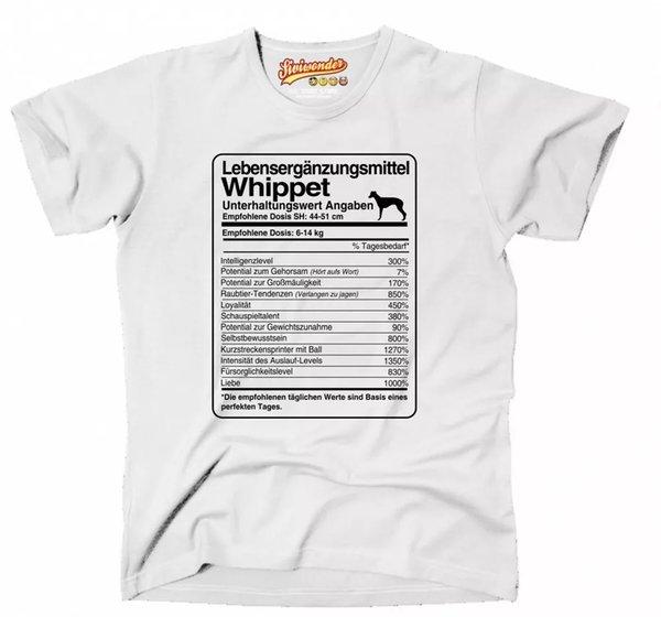 T-Shirt Unisex dose Whippet Life Supplements Men Dog Dog Motif