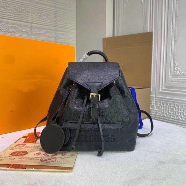 best selling MONTSOURIS Empreinte Backpack Bag Mens Womens Backpacks Flower Letter Leather Pattern Embossed Purses Bags M45205 M45410 M45397