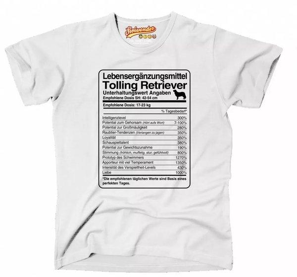 T-Shirt Unisex dose Tolling Retriever Life Supplements siviwonder GREAT