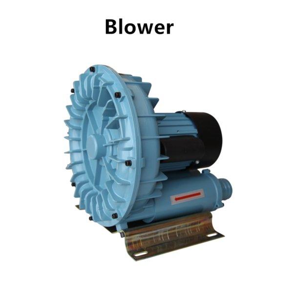 top popular Air Pumps & Accessories 120 180 250 370 750 1100W Blower High Pressure Electric Turbo Aquarium Seafood Compressor Pond Aerator Pump 2021