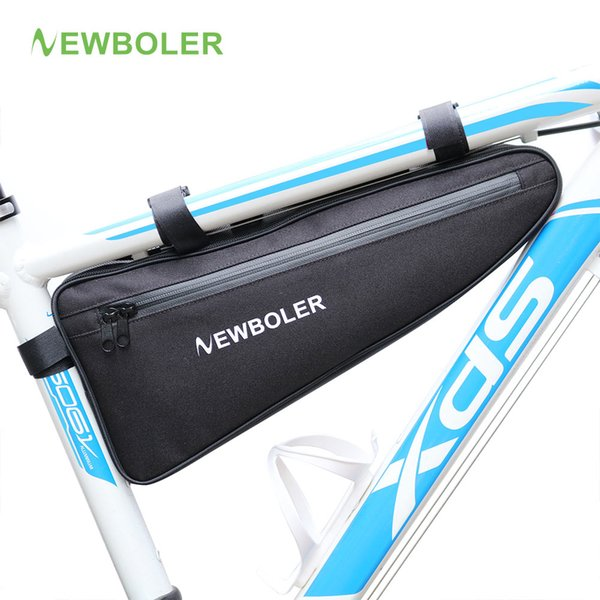 best selling NEWBOLER Bicycle Triangle Bag Bike Frame Front Tube Bag Waterproof Cycling Bag Pannier Packing Pouch ccessories No Lip