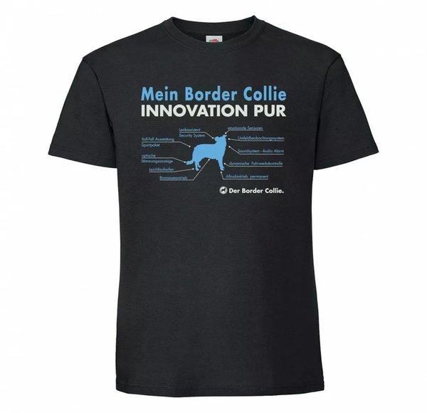Border Collie Unisex T-Shirt innovation Dog Motif Sheepdog Scotch Sheep Dog