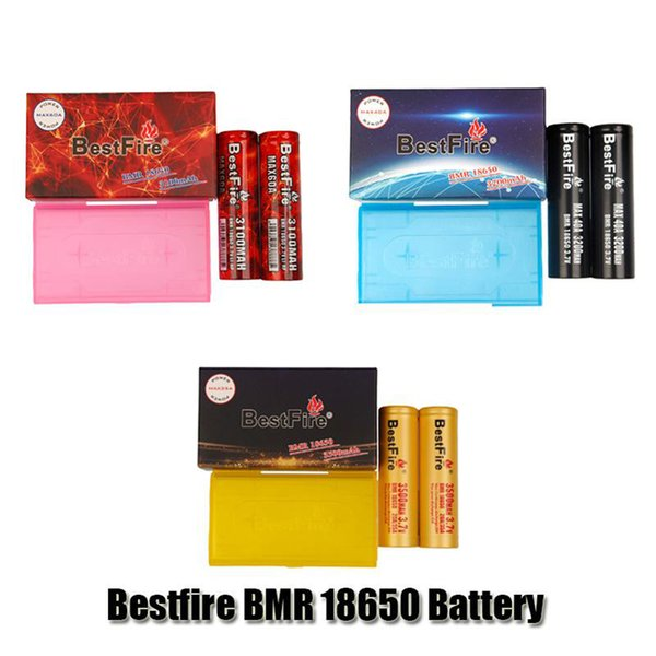 top popular Authentic Bestfire IMR BMR 18650 Battery 3100mAh 60A 3200mAh 40A 3500mAh 35A 3.7V LI-HP Rechargeable Lithium Vape Mod Batteries Original 2021