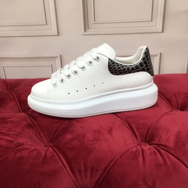 Fashion Designer sneakers Printed Genuine Leather Sneakers leisure high top Casual Shoes fashion leather sneakers size 35-45