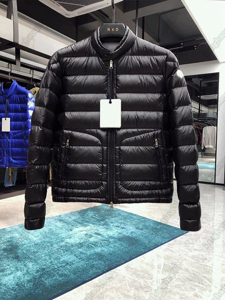 top popular monclair down jacket men and women M letter rooster logo Europe American style coat High Quality Brand coats cotton jackets Designers Mens S Clothing 2021