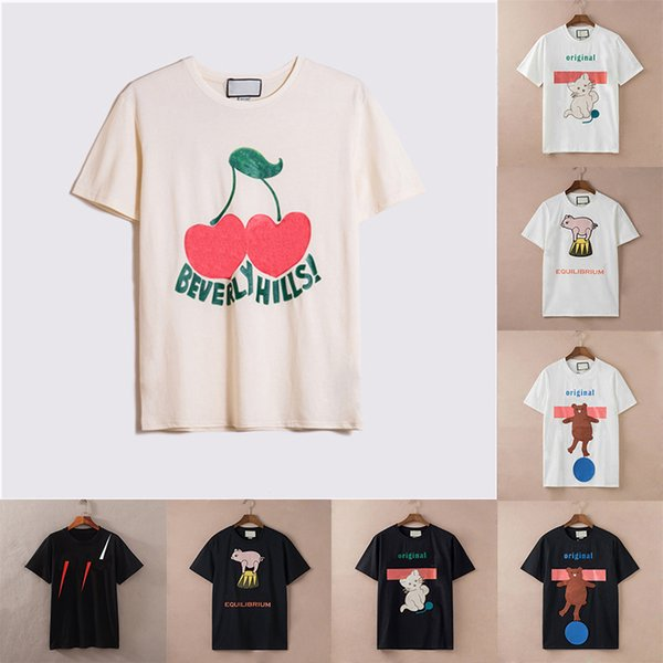 best selling Ins Luxe T shirts Womens Mens Designer Tshirt Fashion Cool Letters Printing Short Sleeve Lady Tees Luxurys Casual Clothes Couples Summer T-shirts Clothing GC2022