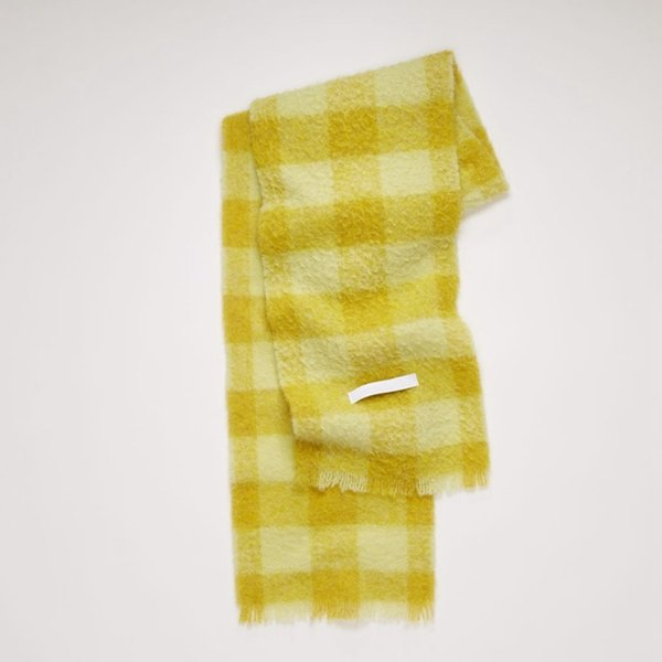 with Label - Yellow Rice Grid-35x210cm