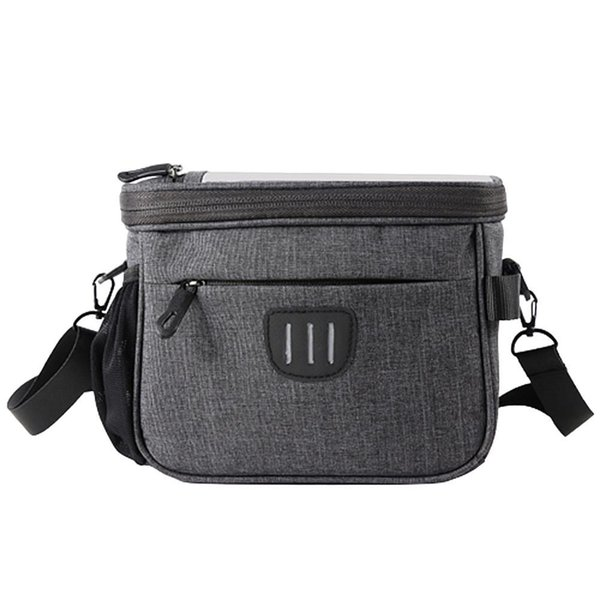best selling Bicycle Basket Handlebar Pannier Cycling Carryings Holder Bike Riding Pouch Cycle Biking Front Baggage Bag MTB ccessories